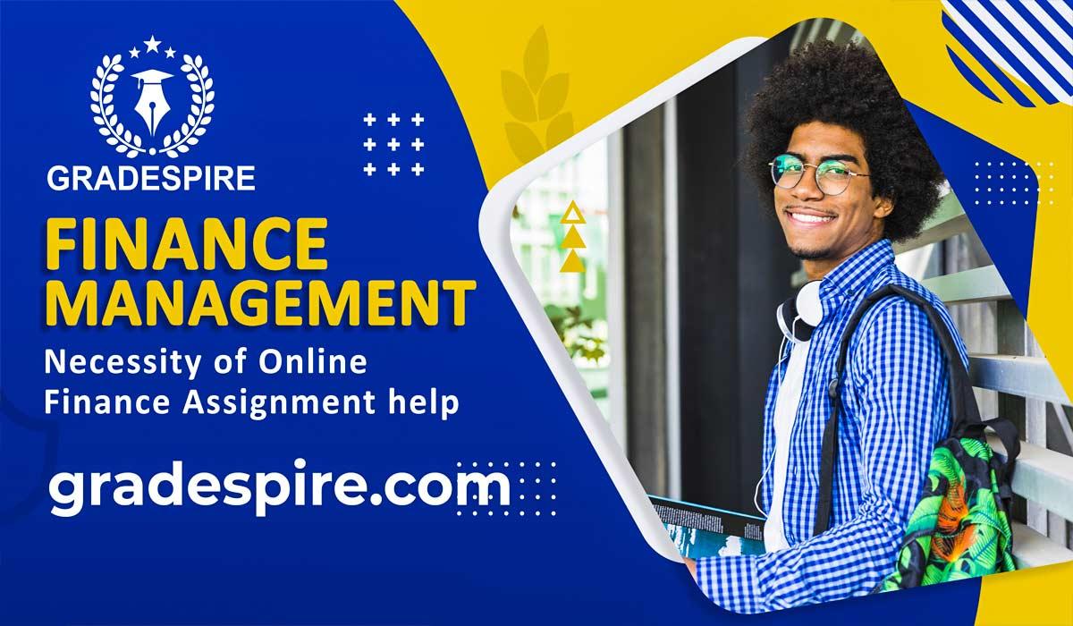 online finance assignment help