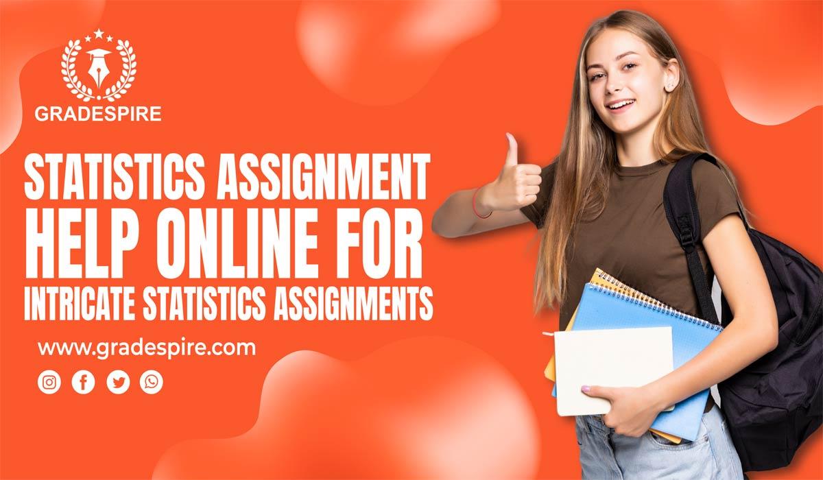 statistics assignment help online